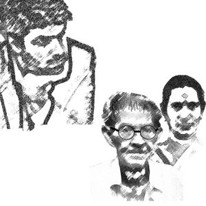 Venkat, his father and mother