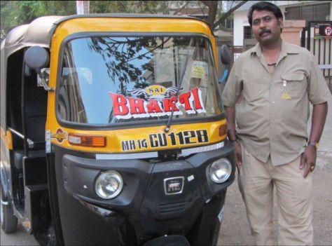 Auto driver Baban Khandale